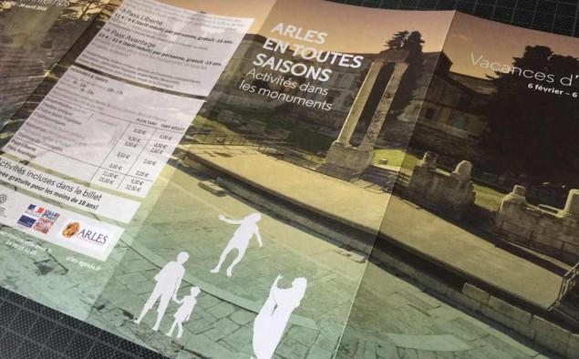Service du patrimoine d'Arles (dépliant)